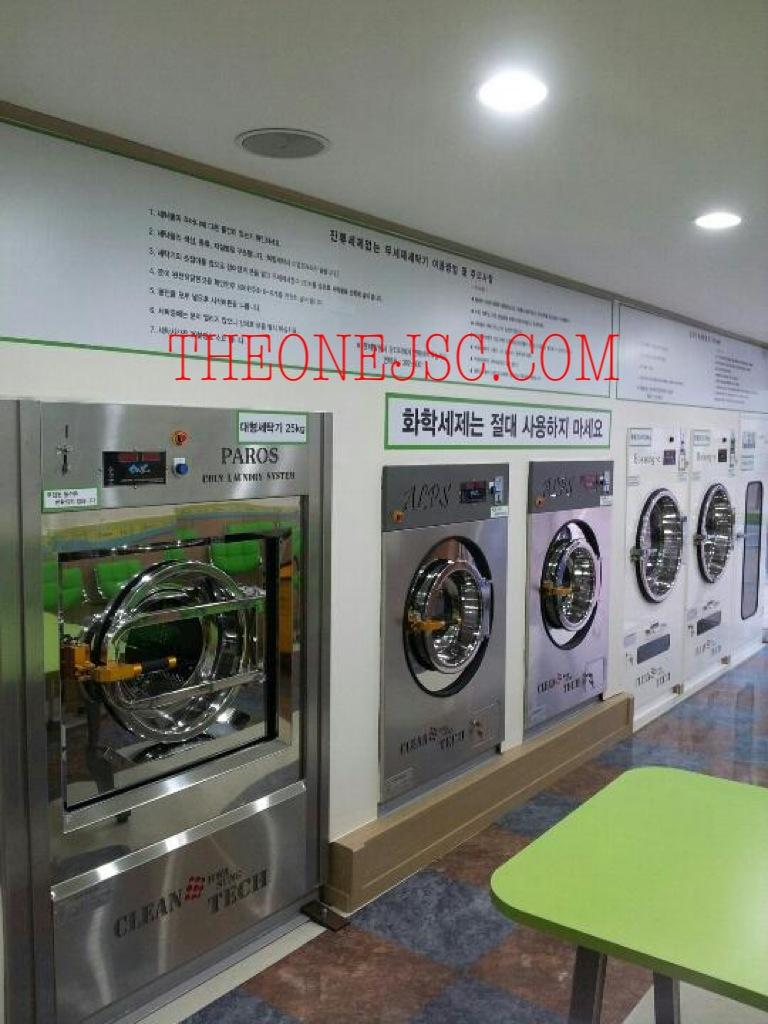 Mô hình tiệm giặt là công cộng