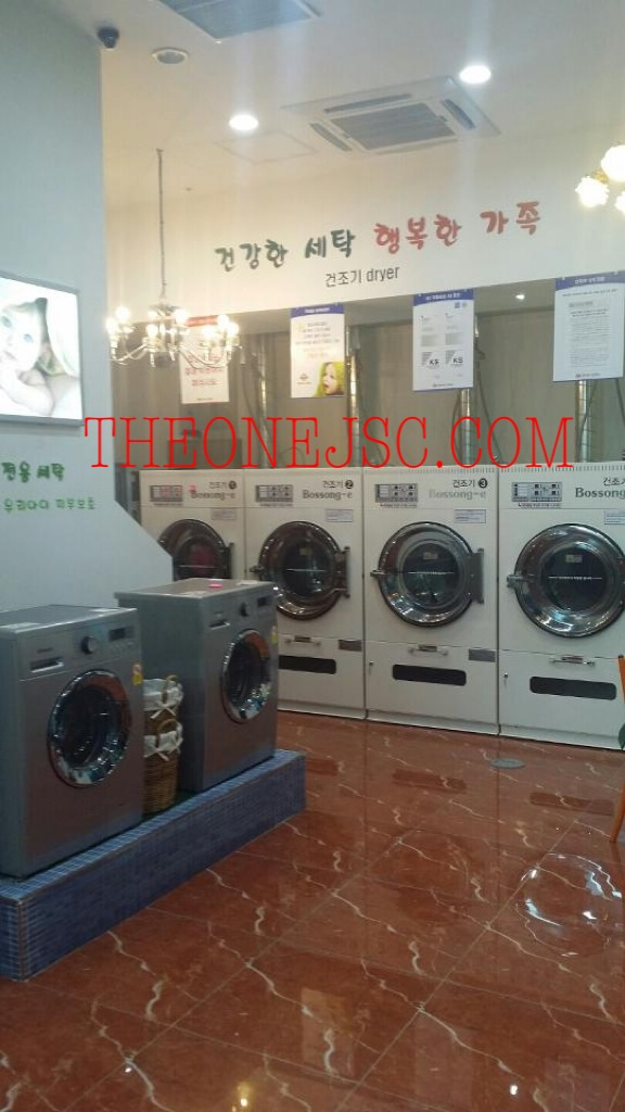 Thiết bị dùng trong xưởng giặt là công cộng