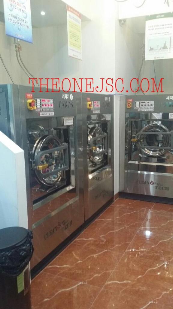 Hệ thống máy trong tiệm giặt là công cộng