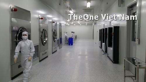 Hệ thống máy giặt chuyên dụng