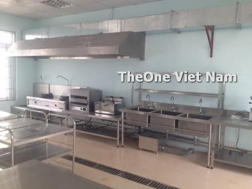 Cung cấp thiết bị inox cho khu bếp chuyên gia