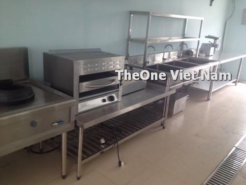 Thi công hệ thống bếp ăn cho chuyên gia tại Nam Định