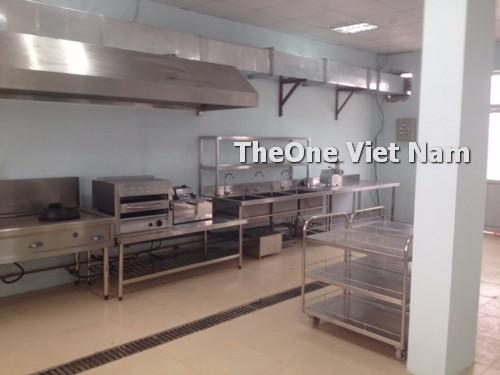 Toàn cảnh khu bếp chuyên gia 200 suất tại THIÊN NAM SUNRISE NAM ĐỊNH