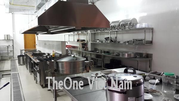 Bếp công nghiệp inox loc dầu nghi sơn