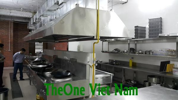 Bán bếp inox cho dự án lọc dầu nghi Sơn