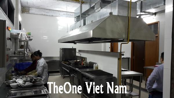 Bếp ăn nhà máy lọc dầu nghi sơn