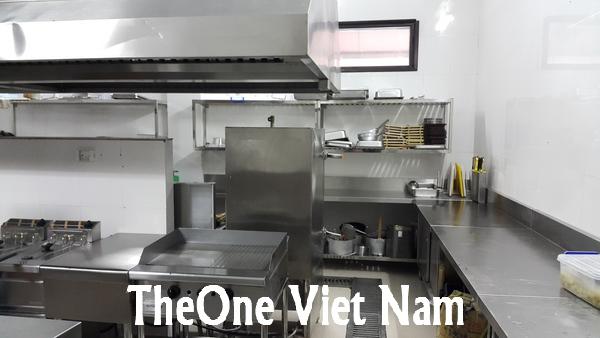 Công ty sản xuất lắp đặt bếp inox công nghiệp
