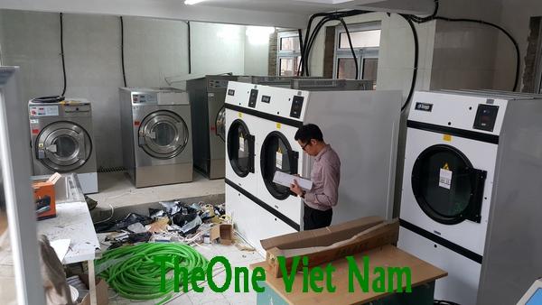 Máy giặt sấy công nghiệp Thái Lan