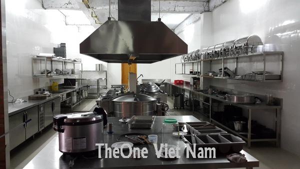 Lắp bếp inox công nghiệp chất lượng