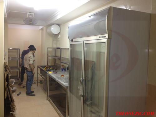 Bếp nhà hàng số 3 Phan Đình Phùng